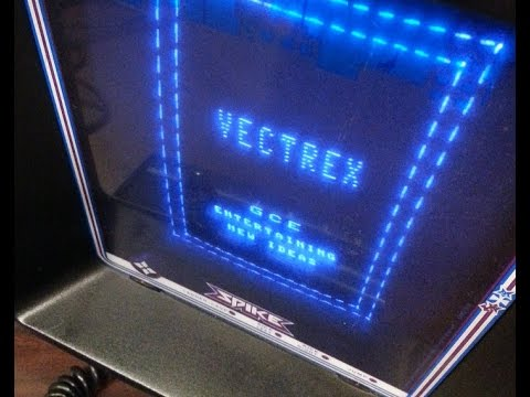 Classic Game Room - VECTREX LIGHT PEN review for Vectrex