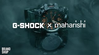 видео Коллаборация G-Shock x Chari & Co — Cream