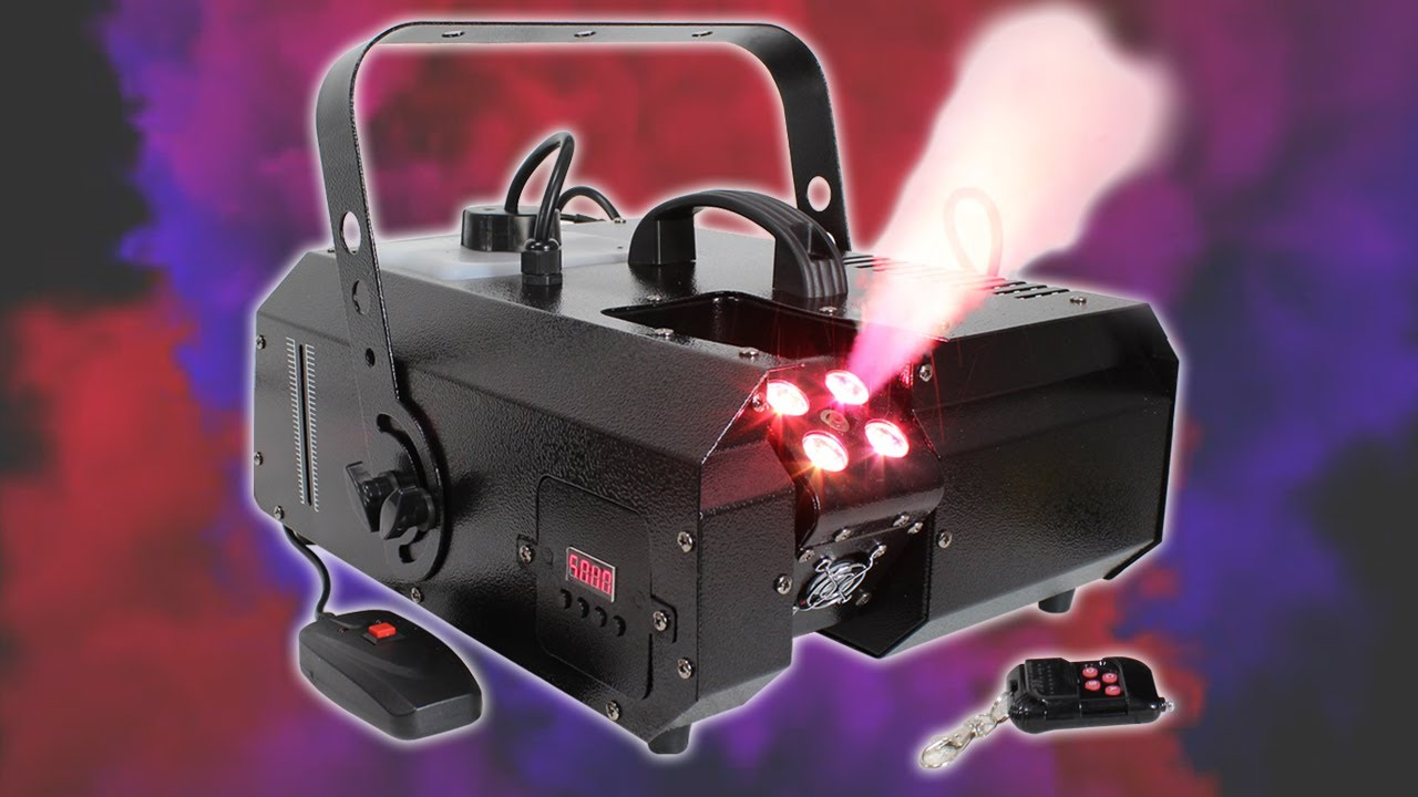 Lsm2000led 1500w Smoke Machine Led Light Effect Dj Stage