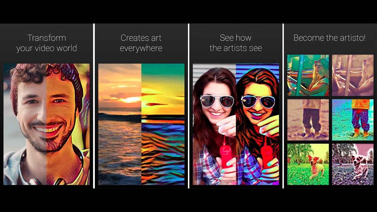 Artisto App | Prisma Video Effects - Best Alternative video Art ...