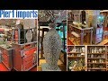 Pier 1 Glam Home Decor   Mirrored Furniture   Shop With Me May 2019