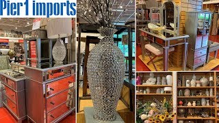 Pier 1 Glam Home Decor | Mirrored Furniture | Shop With Me May 2019