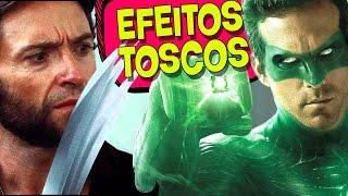 9 EFEITOS TOSCOS EM FILMES FAMOSOS!