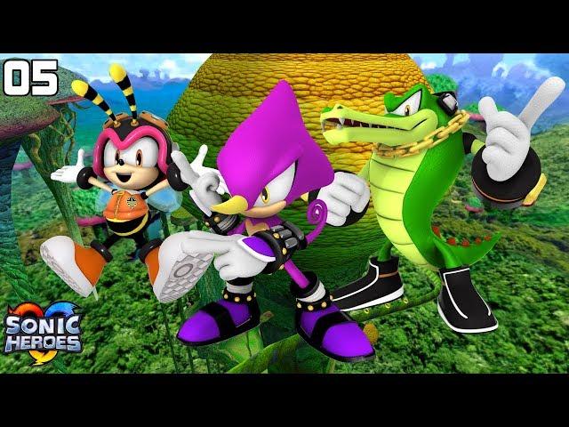 Sonic Heroes (GC) [4K] - Team Chaotix (5/7)