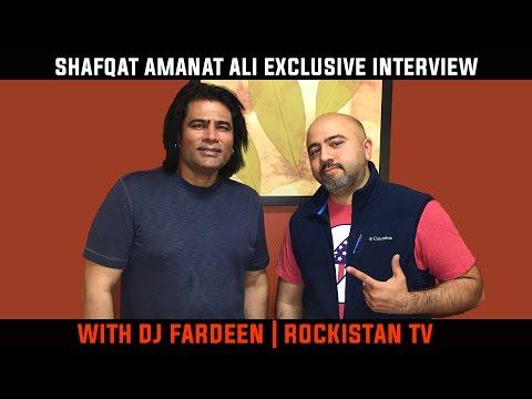 Shafqat Amanat Ali | Exclusive Interview | Dj Fardeen | Rockistan Tv