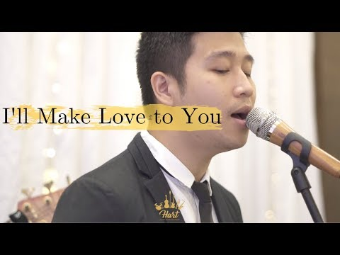 I'll Make Love To You Boyz Ii Men Live Performace Cover By Hart Music