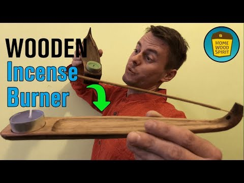 DIY - Incense Burner from Wood