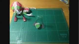 Chibi Mask Rider V3 Papercraft