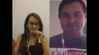 Jara sa jhom lo main cover by shahin and Lisa