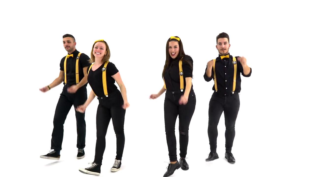 115edca426 Coreografias de baile fáciles - Vuelta al mundo - YouTube