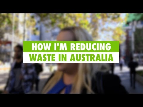 Learn English: How I'm reducing waste in Australia
