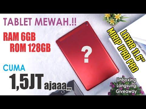 GILA..!! 1,5jt Dapet Tablet Baru RAM 6GB ROM 128GB Layar 11.6