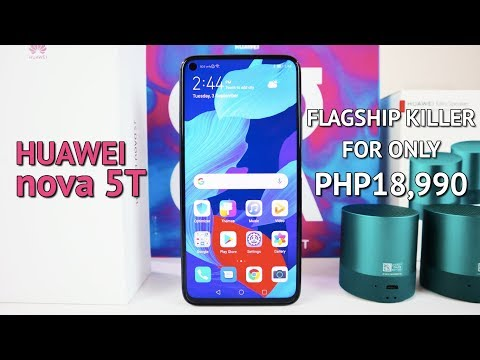 Huawei nova 5T Unboxing Camera Test PUBG ML Test