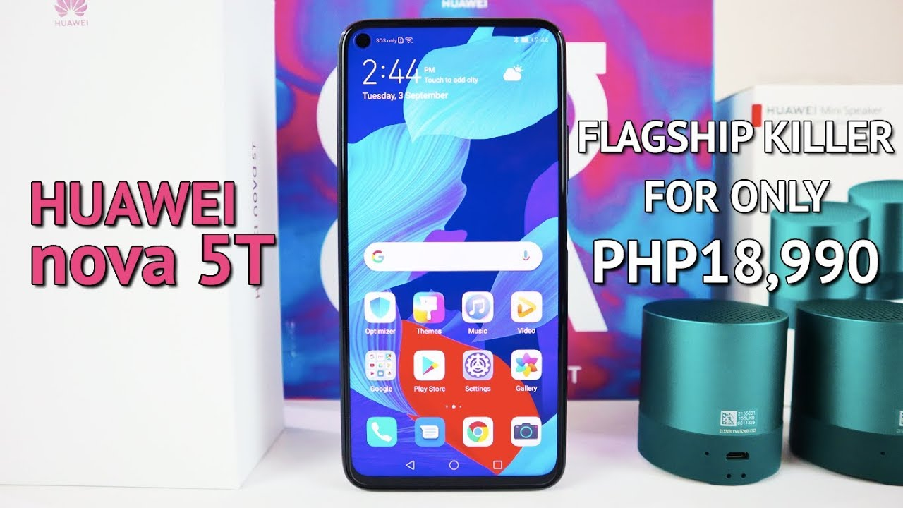 Huawei Nova 5t Unboxing Camera Test Pubg Ml Test A Flagship Device With A Mid Range Price