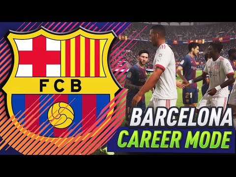 FIFA 18 BARCELONA CAREER MODE!!! #2 - CHAMPIONS LEAGUE FINAL!