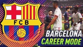 Fifa 18 barcelona career mode!!! #2 - champions league final!