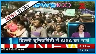 News 100 @ 6 PM | ABVP students framed many charges against AISA