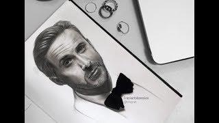 Speed Drawing: Ryan Gosling