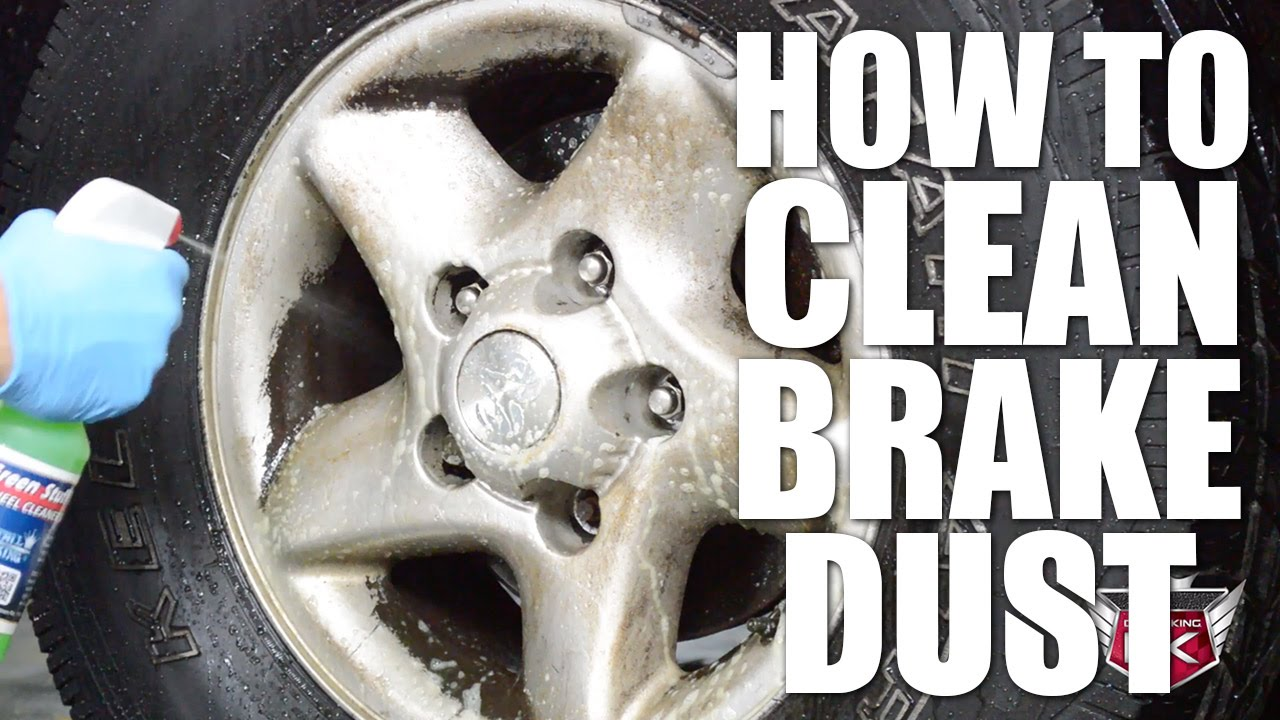 Brake Dust Cleaner >> How To Clean Brake Dust Off Of Wheels Youtube