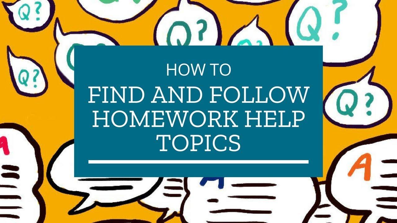 Uk homework help