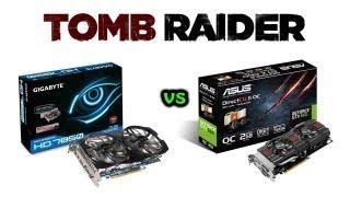 Tomb Raider - Radeon HD 7850 vs GeForce GTX 660