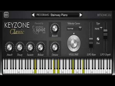 Download Free Piano plug-in: Keyzone Classic by Bitsonic