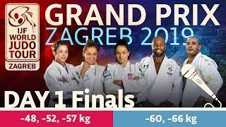Judo Grand-Prix Zagreb 2019: Day 1 - Final Block