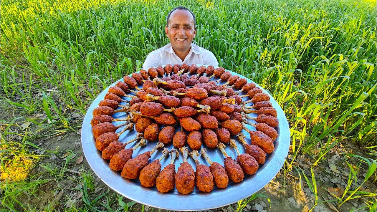 Chicken Drumsticks Recipe | Bakery Style Chicken Drumsticks | Homemade Chicken Drumsticks | Mubashir