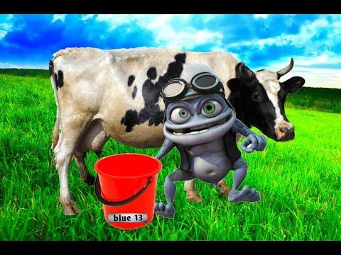 CRAZY FROG & NOAPTEA TARZIU - ( MULGE VACA ) parodie new HD