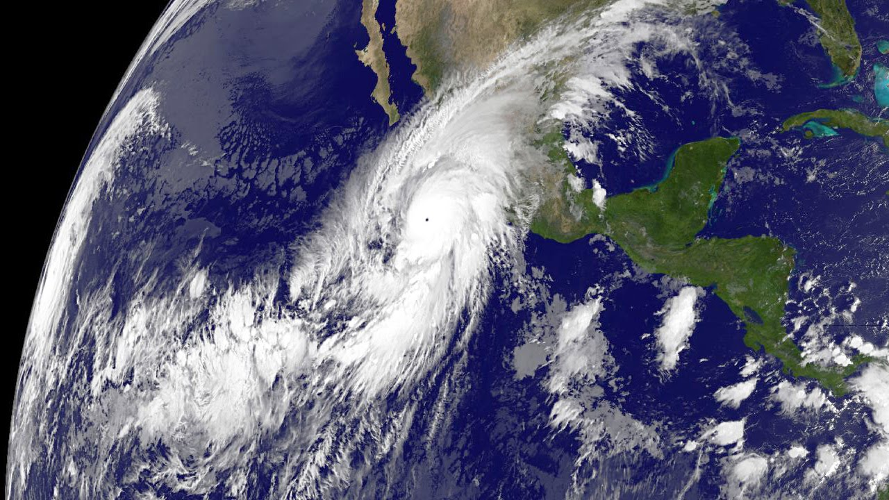 Hurricane Patricia The Strongest Hurricane In Eastern Pacific