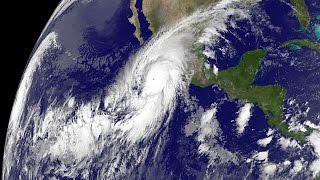Hurricane Patricia - the strongest hurricane in Eastern Pacific