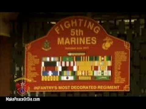 """Make Peace or Die"" - 1/5 Marines documentary - clip 1"