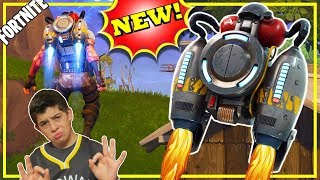 Fortnite New Jetpack Gameplay / Best 12 Year Old Player