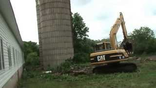 Angi & Wayne Butt Farm Silo Demolition - Video 11