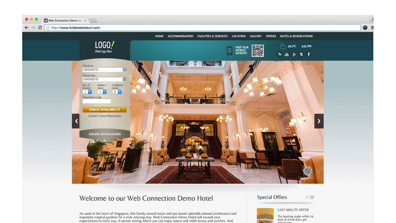 Responsive Web Design | Web Connection | Hotel Websites
