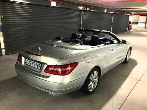2017 Mercedes Benz E Cl E500 Convertible Auto For On Trader South Africa