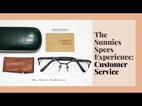 e74813ab50ef The Sunnies Specs experience  Customer Service ✅ - YouTube