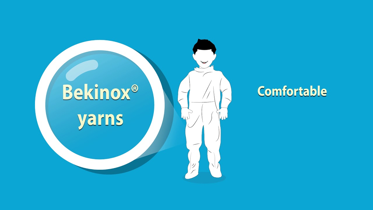Bekinox® yarns for EMI shielding textiles