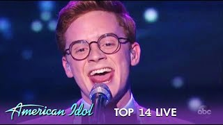 Walker Burroughs: Closes The Show With A BANG!   American Idol 2019