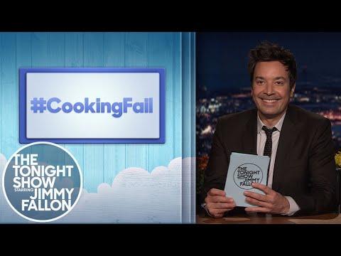 Hashtags: #CookingFail