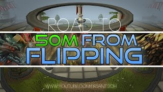 Runescape Making 50m from flipping Episode 1 2015 Rs3 Commentary