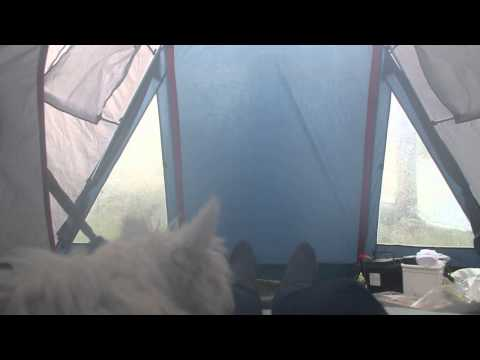 В палатке Topaz-4