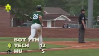 Tech Baseball vs. Harding Highlights - 4/29/17