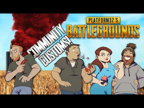 Let's Play PUBG Community Customs - POKING MOM, SNAPPED!
