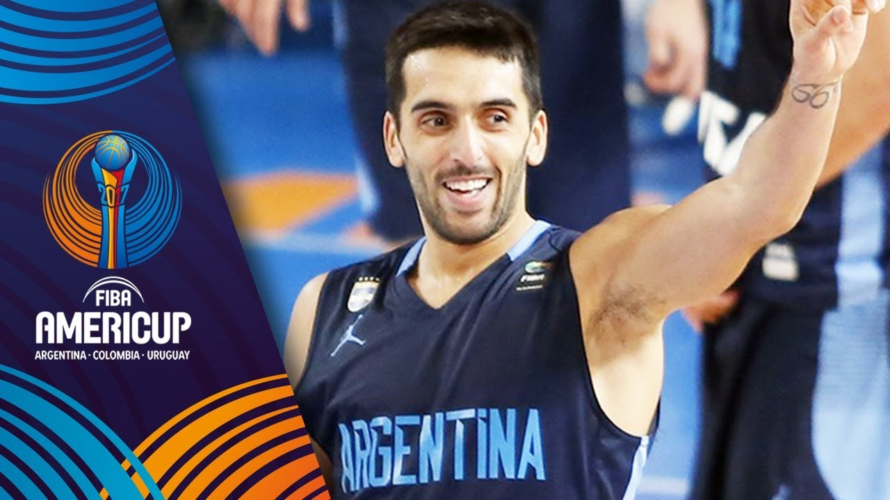 Facundo Campazzo's highlights from Group B - Argentina