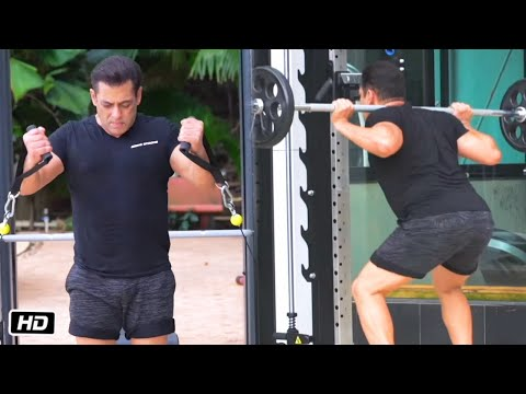 Salman Khan Shares FULL WORKOUT Video For Promotion Being Strong Gym Equipment 2020