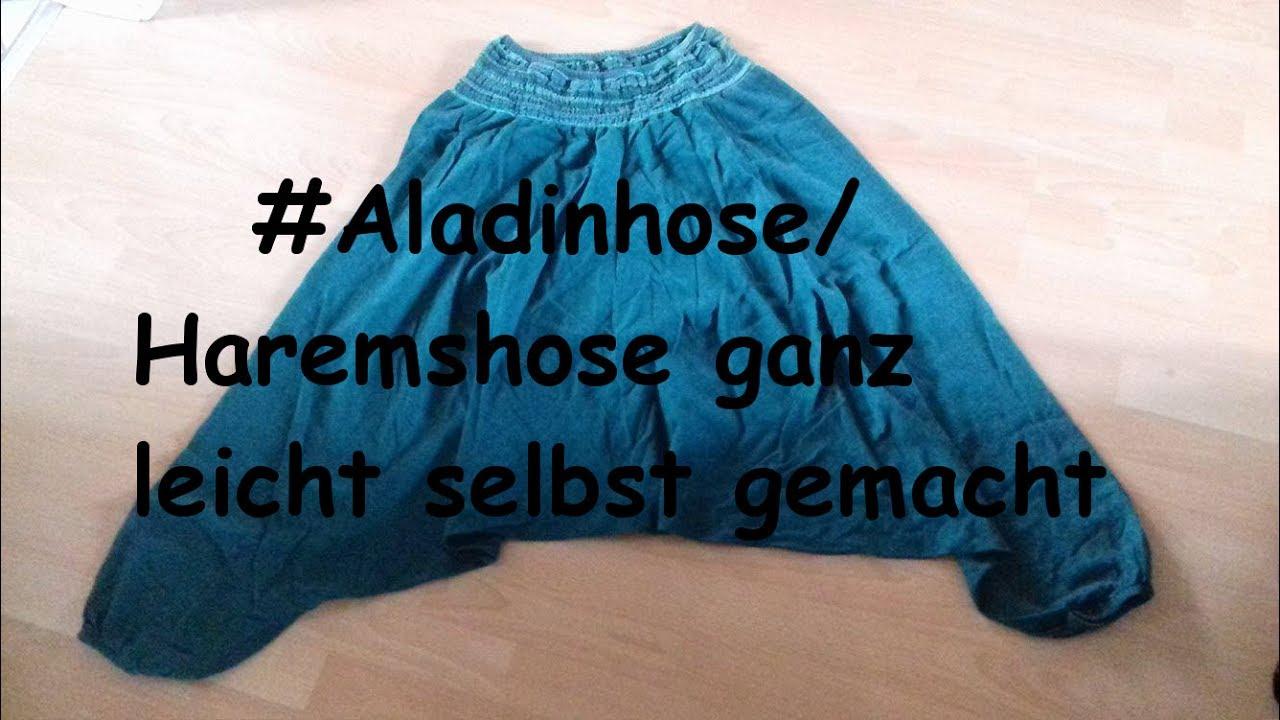 Finden Sie den niedrigsten Preis anders neuesten Stil GANZ EINFACH ALADINHOSE/HAREMSHOSE SELBER NÄHEN
