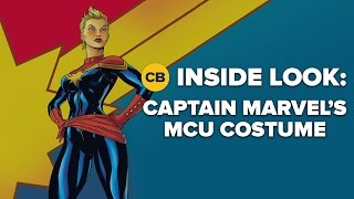 Captain Marvel's Costume - Inside Look
