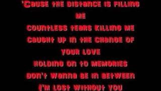 Medina - In Your Arms - Lyrics