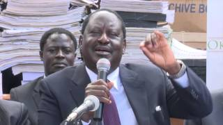 Raila to Duale: You are not in my league